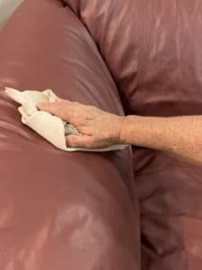 Wipe With Damp Cloth