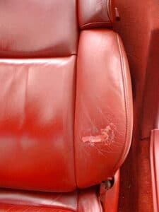 Corvette Seat Finish Wear
