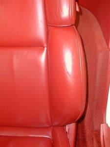Corvette Seat Finish Wear Restored